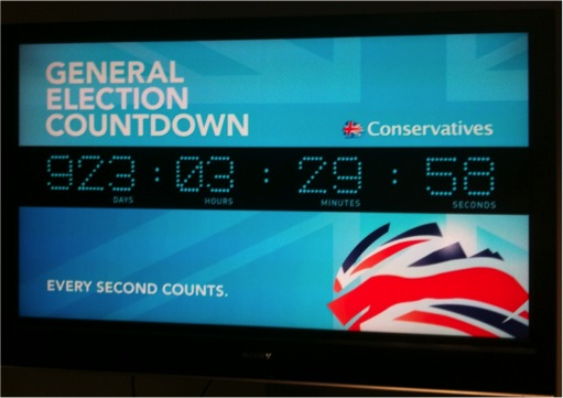 Countdown Clock at CCHQ