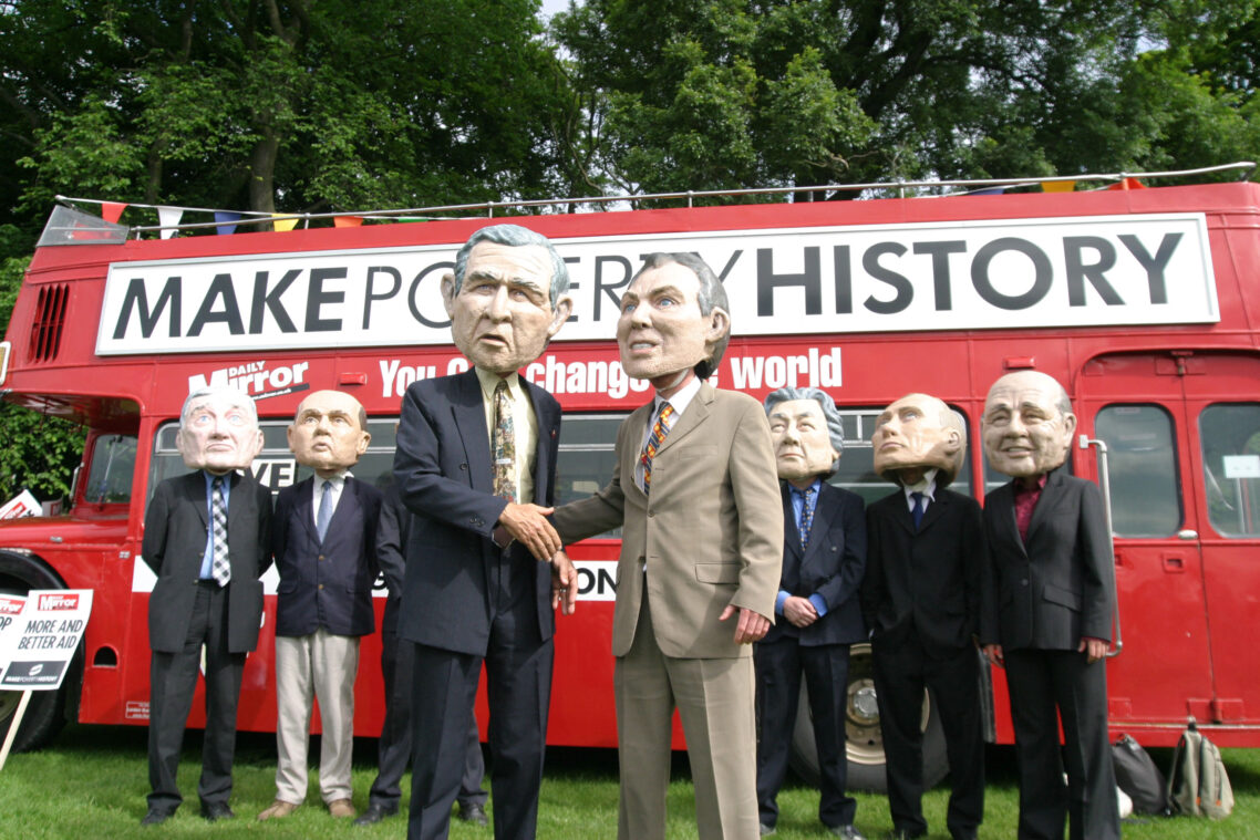 10 years later – some personal reflections on Make Poverty History
