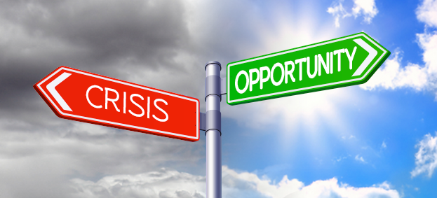 How campaigners can help ensure crisis equals opportunity..