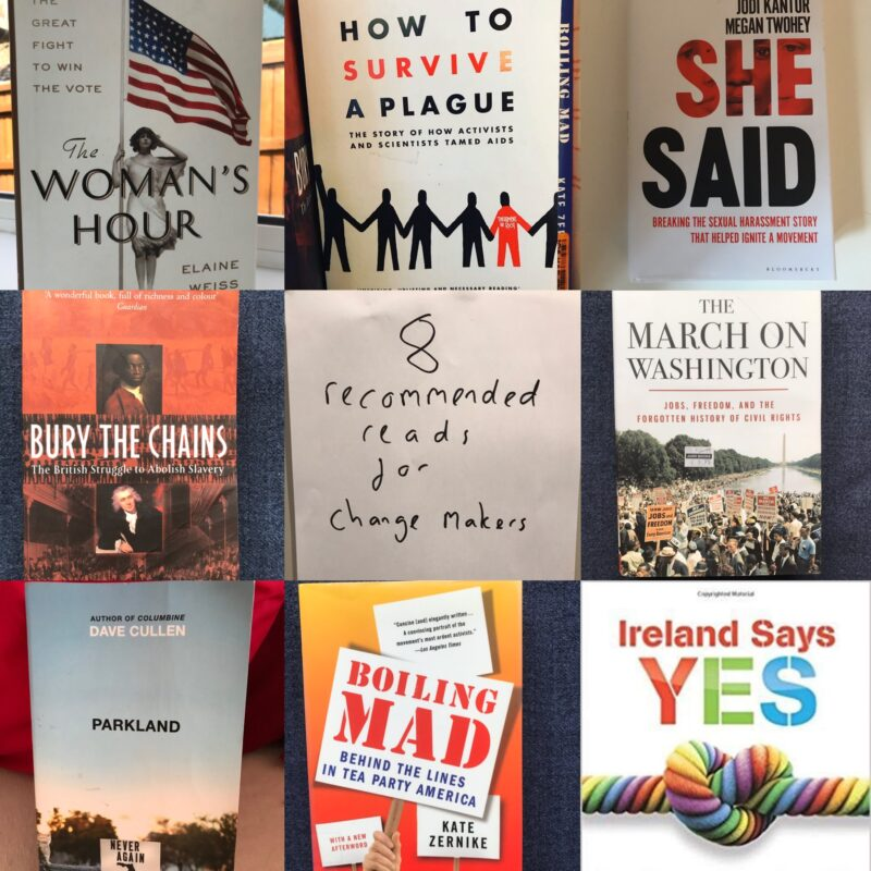 Learning from successful movements – some recommended reads for campaigners